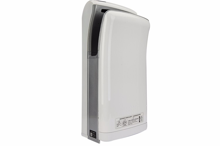 CE RoHS Automatic High Speed White Bathroom Electric Hand Dryer