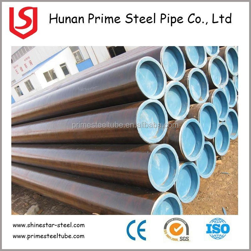 Prime Steel Pipe API 5L st52 ASTM A53 A106B ST52 A179 C Cold Drawn Seamless Steel Pipe
