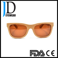 High End China factory Customized Wood Sunglasses with your own design and logo