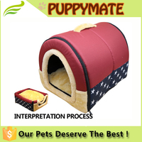 Wholesale cheap indoor portable pet houses dog beds