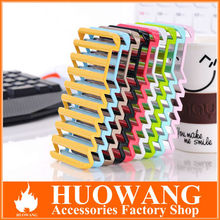 "hot sell new design stripe hollow out cell phone case for iphone 5, for iphone 5"" case"