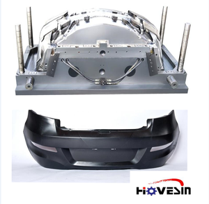 High quality professional mould manufacturer plastic moulds making car bumper molds Plastic injection mold