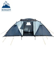 Outdoor portable 6 persons waterproof family camping tent