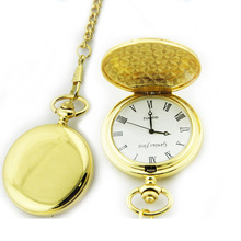 Alloy quartz analog hanging pocket watch with keychain watch