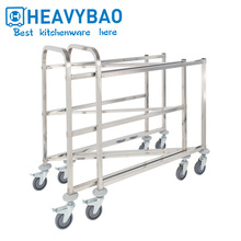 Heavybao New Hotel Room Cart Food Type Of Service Trolley