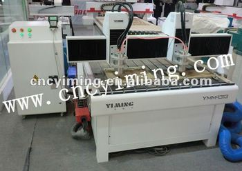 HOT YMM1313 cnc wood router for relief sculpture