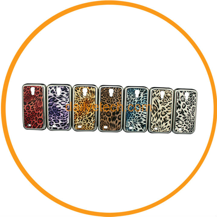 Aluminum Metal Cheetah Snap on Case Cover for Samsung Galaxy S4 i9500 7 Colors from Dailyetech