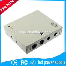 high quality portable ac 220v battery 12v 15a dc regulated power supply