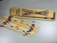 Wooden Mikado Game For Kids Wooden Pick-up Sticks Toy For Kids