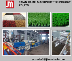 pp/pet artificial grass making machine/ extrusion line