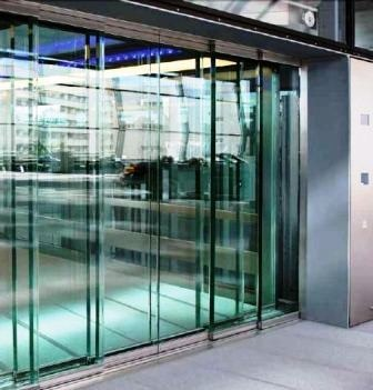 Commercial double folding frame glass doors/high-grade door with CCC/CE Certificates