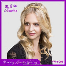 Hot selling business metal flower headband