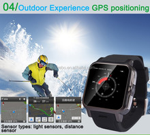 Smart mobile phone Android4.2/ 3G smart watch phone 2015/ GPS watch tracker