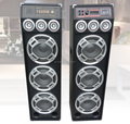 Big Bass Power Amplifier Stage Speaker Good Sounds Music System