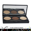 Powder Form and Eye Use eye brow 3colors for beauty