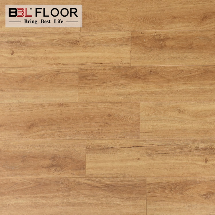 China 8mm 12mm Solid color water resistant laminate wood flooring georgia
