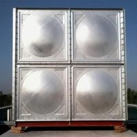 New products latest 2000l water tank in environment