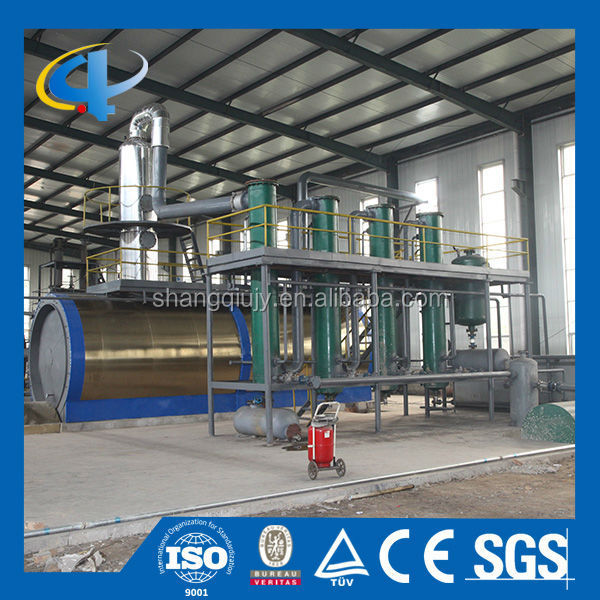 Waste Engine Oil Recycling Equipment, Waste Motor Oil Distillation Plant