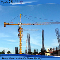 12Ton Tower Crane Boom Length 70m