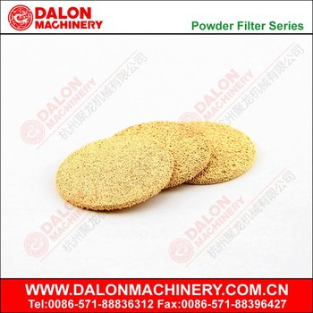 sintered bronze filter disc,oil filter