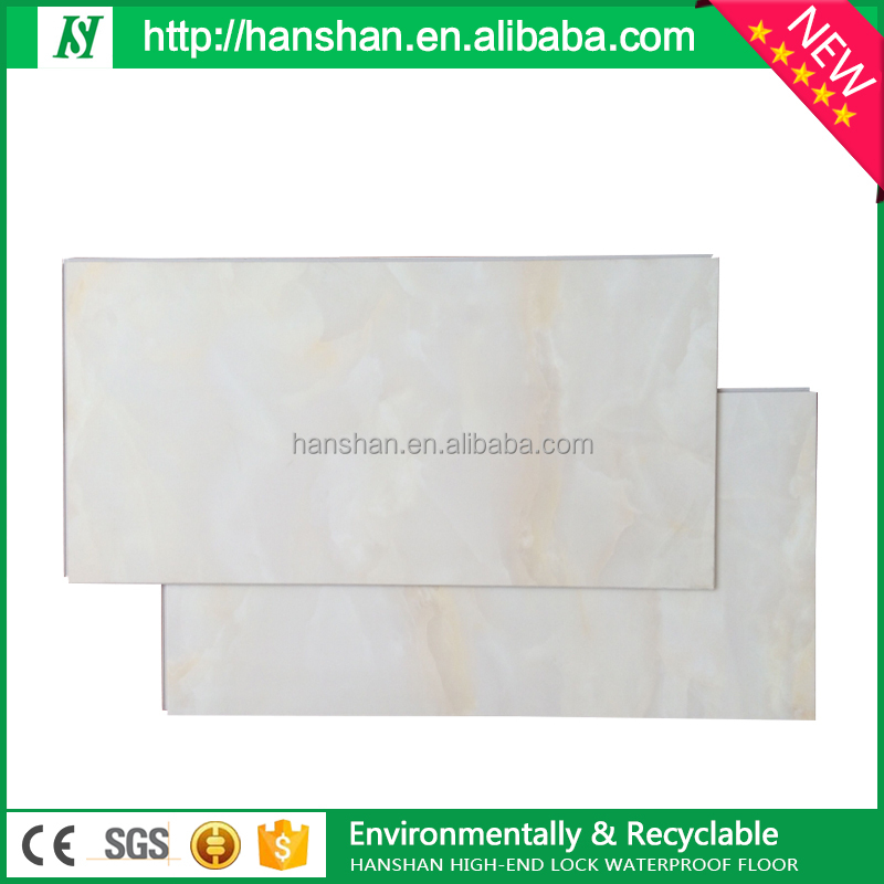 plastic flooring waterproof interlocking pvc vinyl flooring plank
