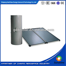 solar collector Flat plate pressurized solar industries panels split solar water heater