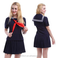Juqian 2016 high quality classic old Korean School Uniforms for girls and boys
