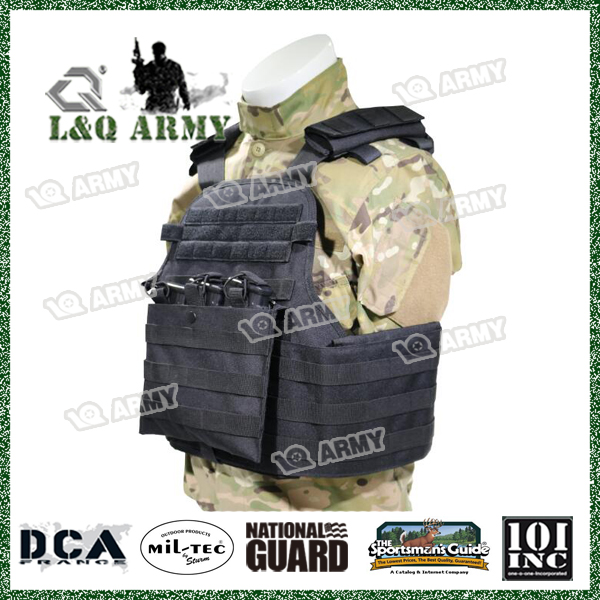 Tactical Vest Bulletproof Vest Plate Carrier with Magazine Pouch