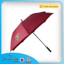 Advertising large outdoor good selling golf crochet umbrella