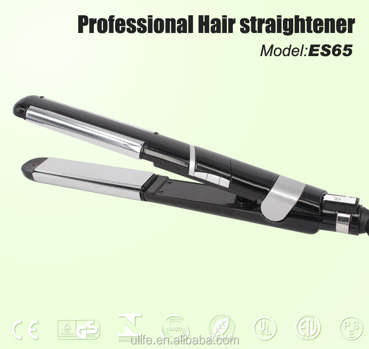 Oil Spay Titanium Floating Plates Hair Straightener for Wholesaler
