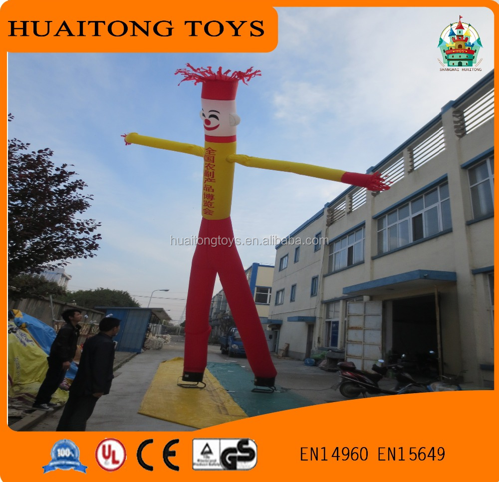 Advertising cute Air Dancer For exhibition Show/outdoor Inflatable Air Dancer Hot Sky Dancing man