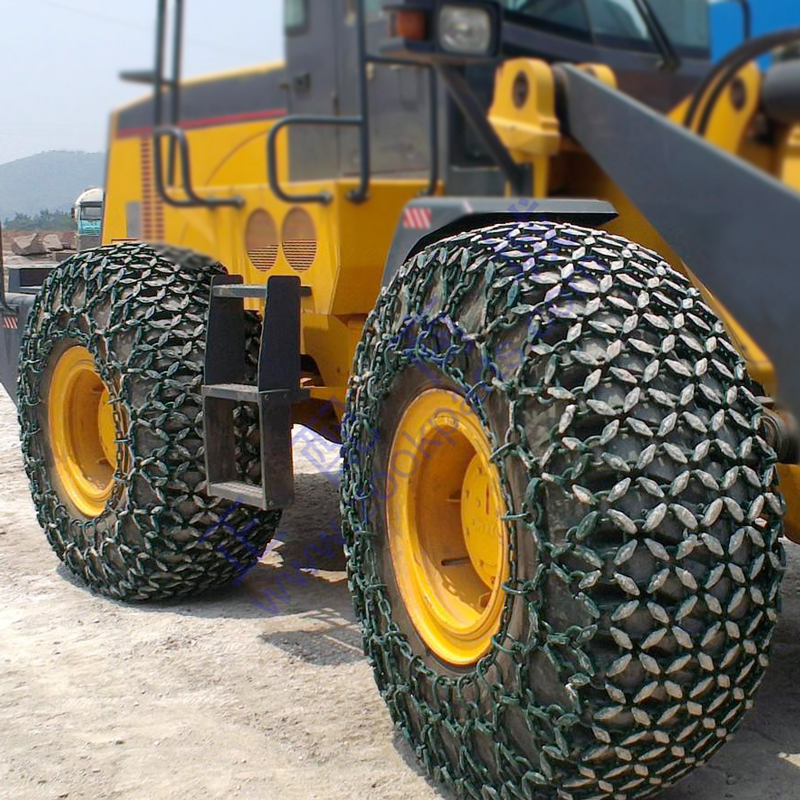 23.5-25 Chinese Wheel loader tyre and tyre protection chain for sale