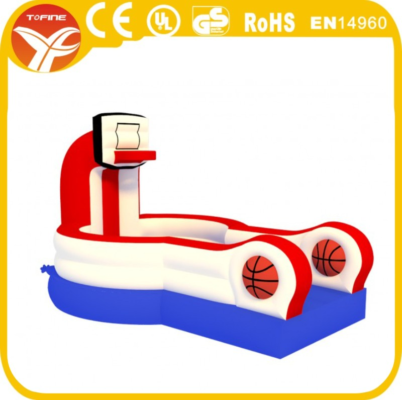 2017 New Inflatable Slam Dunk commercial playground/ Slam Dunk Basketball game