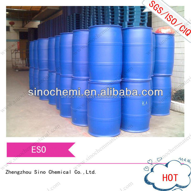 Factory supply directly ISO/BV certified Lowest price&High Quality Epoxidized Soybean Oil ESO manufacturer