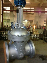 API600 carbon steel WCB flange gate valve for gas oil water system