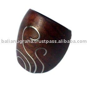 Sono Wood Finger Ring