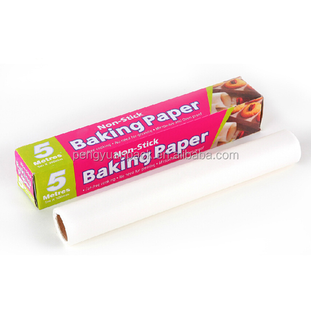 Greaseproof Non Stick Food Wrapping and Baking Parchment Paper rolls