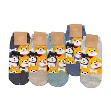 Sumeihui new design cotton sock sweat-absorbent wholesale animal compression socks for children