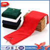 High Quality Wholesale 16*26Cm Soft Touch Feeling Cut Velvet 100% Cotton Absorbent Golf Towel