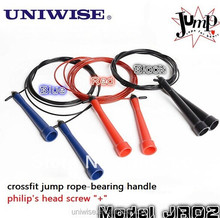 JR02-new Speed Jump rope - Wire Rope with Plastic Coating!