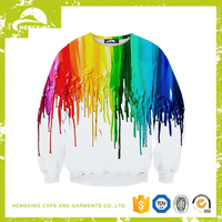 non hooded custom 3d sweatshirt manufacturer in China