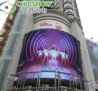 New technology airport smd rgb p8mm full color indoor led advertising screen 3 in 1 factory price