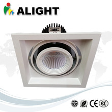 Latest Adjustable 15W LED Grille Light cob high brightness led grille lights led down light 15w CE ROHS 1500lm 90lm/w