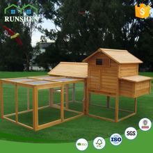 Outdoor Furniture Egg Chicken House Design Wooden Pet House With Big Run