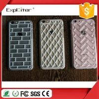 Hot sale 100% top quality crystal epoxy hand made hand phone cover