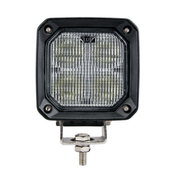 Multi purpose 4 Inch square for truck tractor forklift led work light 10V 80v