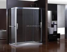 european popular bathroom design any colors glass shower enclosure