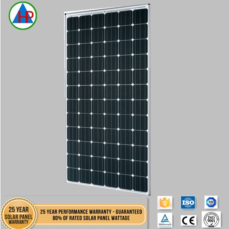 Most sold 300W price per watt monocrystalline silicon solar panel with full certification