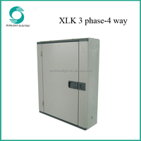 XLK 3 phase 4 way cable distribution box mdf metal distribution board