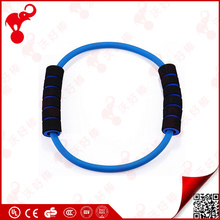 sports equipments O ring gymnastics and exercise resistance bands natural rubber fitness latex tube
